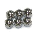 Heavy-Duty Valve Stem End Caps, 6 pk