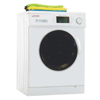 pinnacle super combo washerdryer with automatic water level and sensor dry white sale