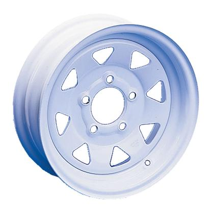 8-Spoke Steel Wheels