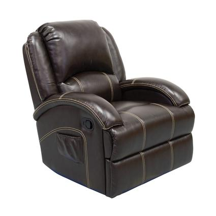 Thomas Payne Collection Heritage Series Swivel Glider Recliner, Jaleco Espresso