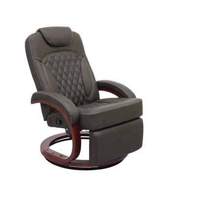 Thomas Payne Collection Euro Recliner Chair, XL Euro Recliner Chair, Oxford Walnut