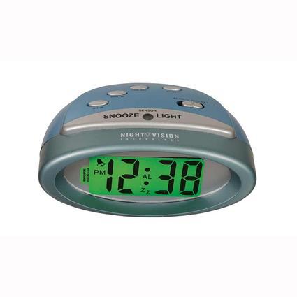 Night Vision LCD Clock