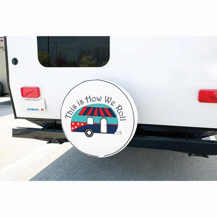 Vinyl Spare Tire Cover, This is How We Roll, 27
