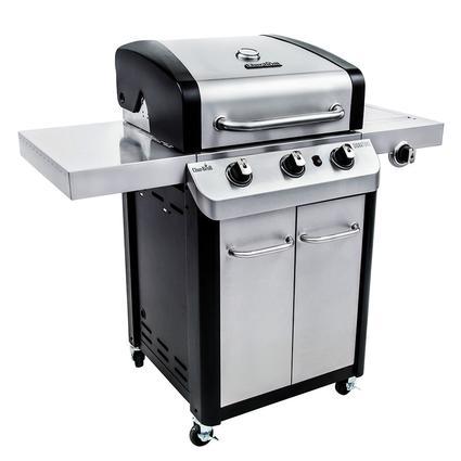 Char-Broil Signature 3 Burner Cabinet Gas Grill, 24,000 BTU