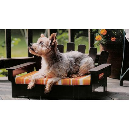 Adirondack Pet Bed with Cushion