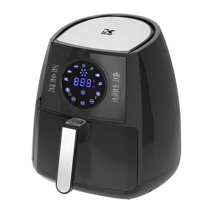 Kalorik Digital Airfryer with Dual Layer Rack, Black