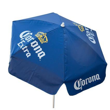 Corona Extra Vinyl Patio Umbrella, 6'