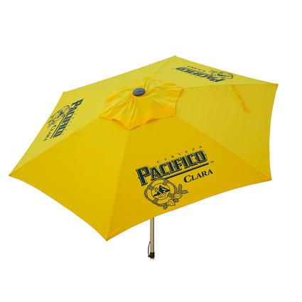 Pacifico Beer Push-Up Market Patio Umbrella, 8.5'