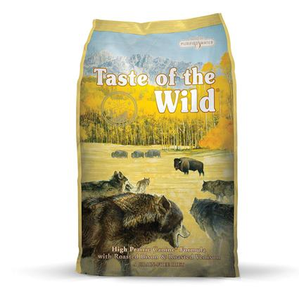 Taste of the Wild High Prairie Puppy Formula with Roasted Bison Roasted Venison, 15 lb. Bag
