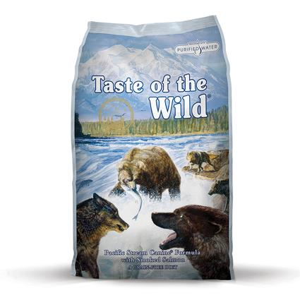 A Taste of the Wild Pacific Stream Canine Formula with Smoked Salmon, 5 lb. Bag