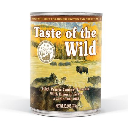 Taste of the Wild High Prairie Canine Formula with Roasted Bison Roasted Venison
