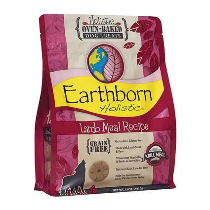 Earthborn Holistic Oven-Baked Dog Treats, 14 oz. Bag, Lamb Biscuits