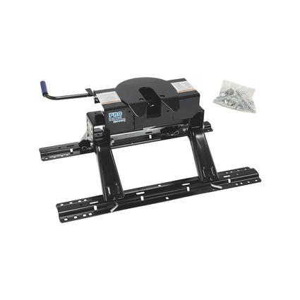 Pro Series 20K 5th Wheel Hitch with Base Rails