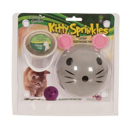 Kitty Sprinkles Catnip Dispenser Mouse Toy