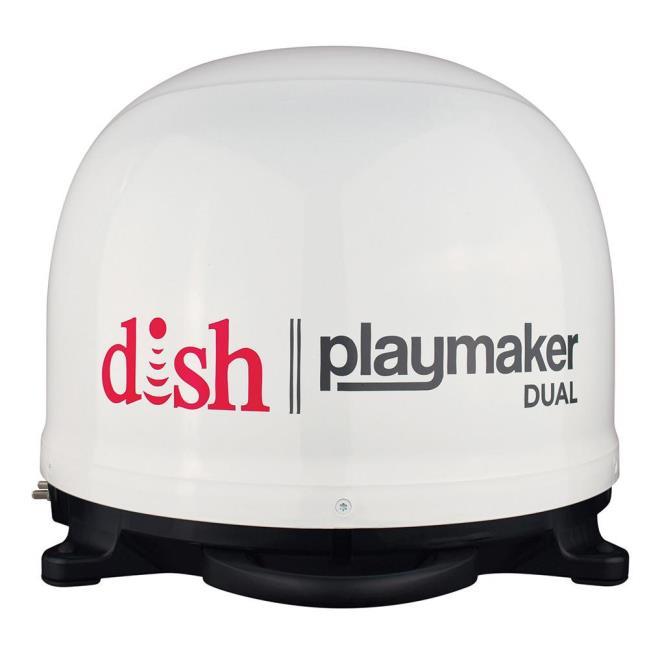 Dish playmaker dual portable satellite antenna white winegard pl image dish playmaker dual portable satellite antenna white to enlarge the image publicscrutiny Images
