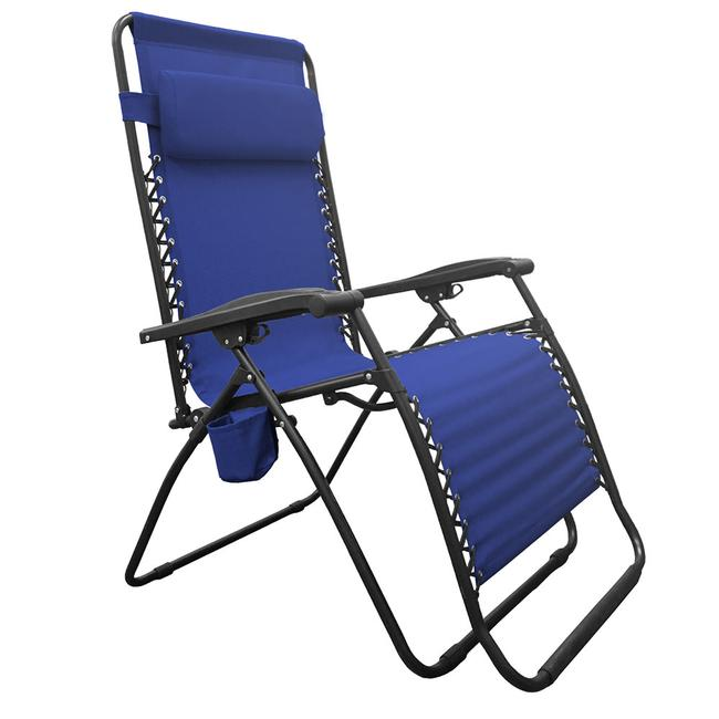 Image Infinity Big Boy Zero Gravity Chair, Blue. To Enlarge The Image,  Click .
