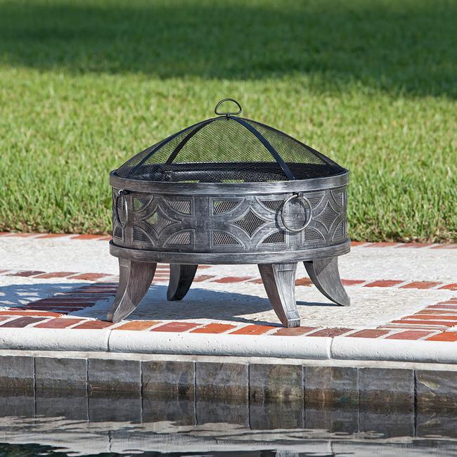 Image Firenzo Round Fire Pit. To Enlarge The Image, Click Or Press Enter .