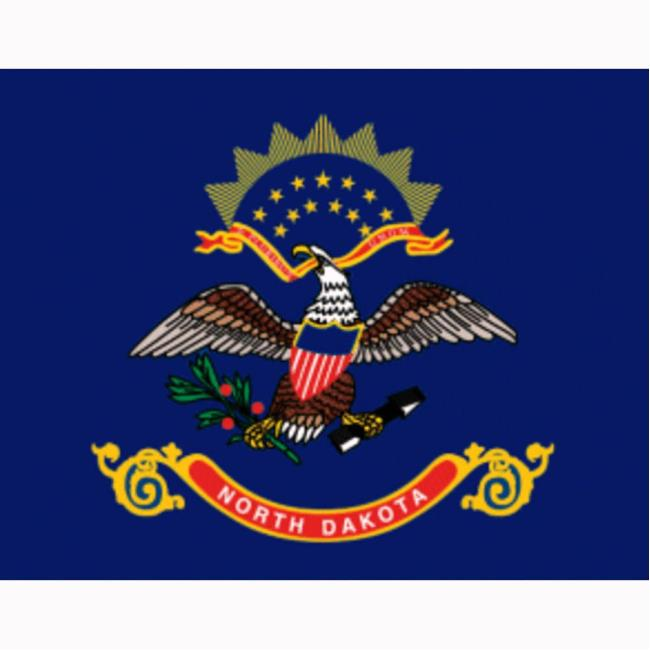 North Dakota State Flag Two Group Flag 23535 Flags Accessories