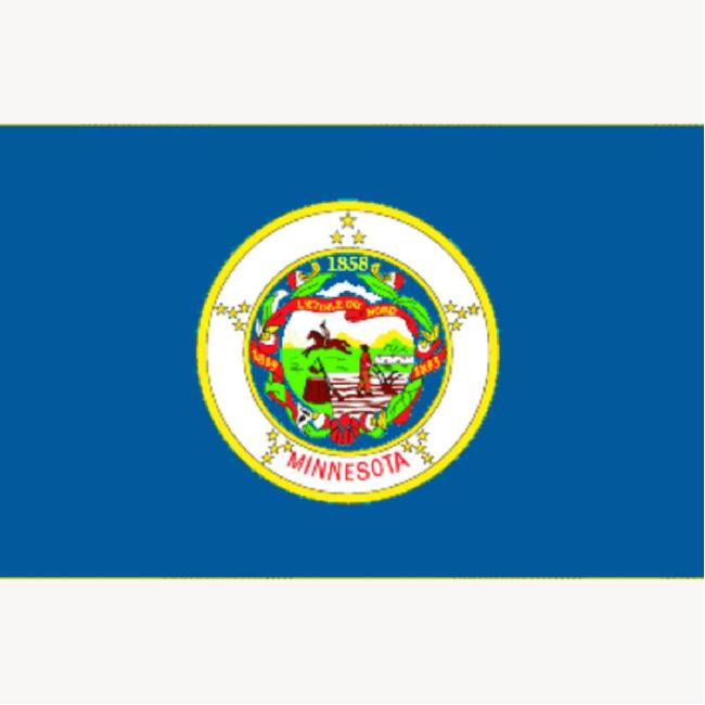 Minnesota State Flag Two Group Flag 23524 Flags Accessories