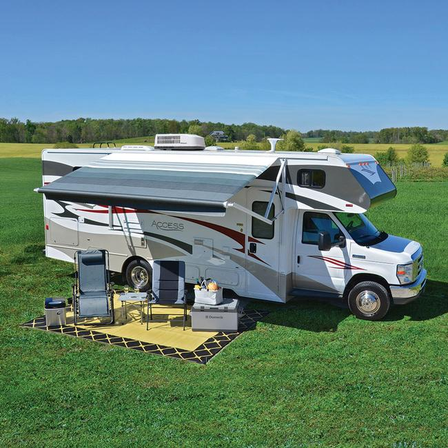 Image Dometic 9100 Power Patio Awning, Acrylic. To Enlarge the image, click  or . - Dometic 9100 Power Patio Awning, Acrylic - Dometic - RV Patio
