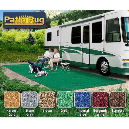 Prest-O-Fit Patio Rug 6' x 15' - Green
