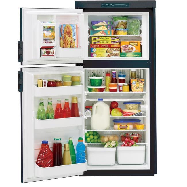 Dometic Americana RM2652 2-Way Refrigerator, Double Door, 6.0 Cu. Ft ...