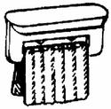Airstream Curtain Carriers -- pkg of 14