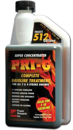 PRI-G Complete Gasoline Treatment