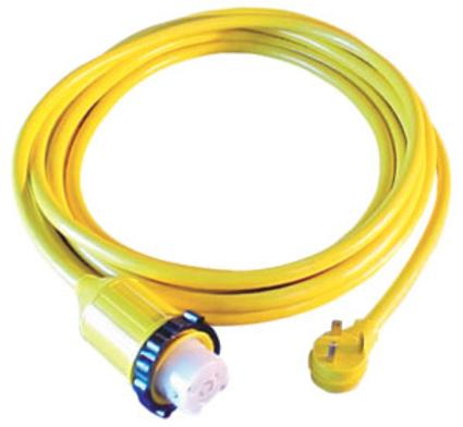 Marinco Park Power 50-Amp Locking Adapter with 25' 30-Amp Cord