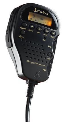 Cobra Mobile CB with Soundtracker