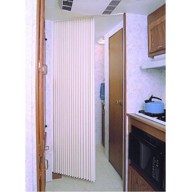 United Shade Pleated Folding Door - United Shade - RV Replacement ...