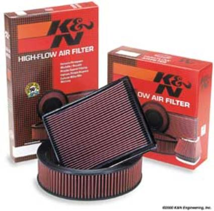 K & N Air Filter Ford 7.3L 99-01(after 12/7/98)