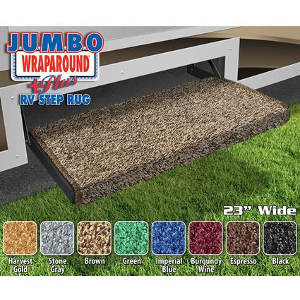 Prest-O-Fit Jumbo Wraparound+Plus RV Step Rugs