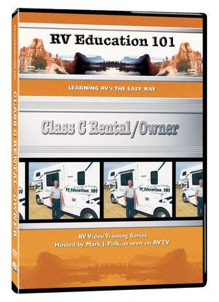 RV Education 101, DVD - Class C