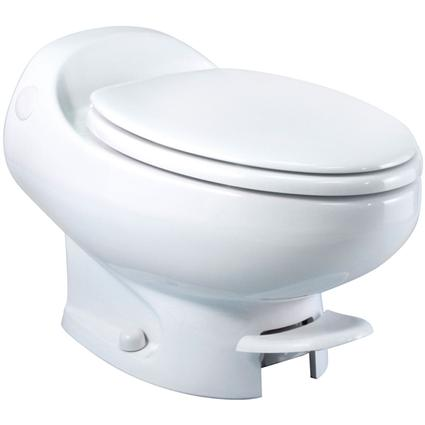 Low Profile Aria Classic Toilet - White