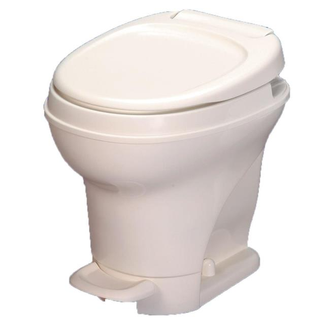Aqua-Magic V Toilet High Profile Foot Flush - Parchment - Thetford ...