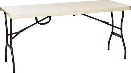 5' Fold-in-Half Table