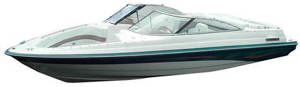 Contour-fit ADCO Boat Covers, Size C