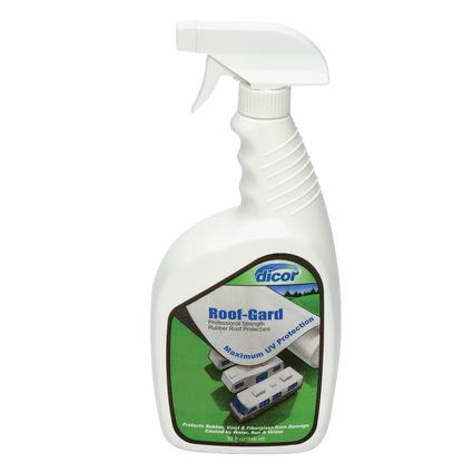 Dicor Roof-Gard Rubber Roof Protectant, 32 oz. spray
