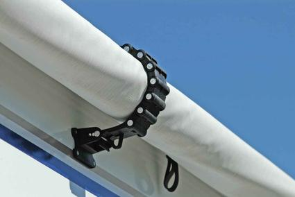 RV Awning Clamp - White