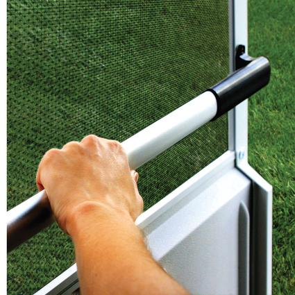 Screen Door Cross Bar - Black Handle