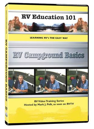 RV Education 101, DVD - RV Campground Basics
