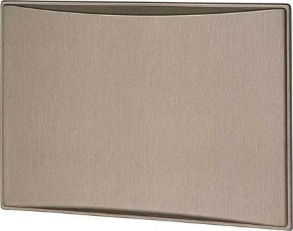 New Generation 7.0CF Refrigerator Door Panels, Contoured - Brushed Roman Bronze