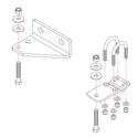 Roadmaster Reflex Steering Stabilizer Mounting Bracket, RBK7