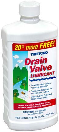 Thetford Drain Valve Lubricant - 20 oz.