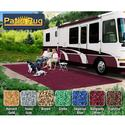 Prest-O-Fit Patio Rug 6' x 15' - Burgundy Wine
