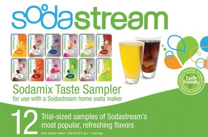 Sodastream Sodamix Sampler Pack