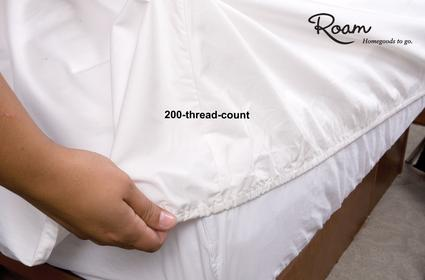 Fitted RV Sheets, French Vanilla - Short Queen