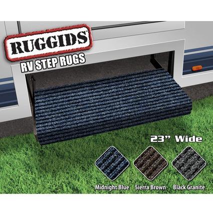 Ruggids RV Step Rug - Midnight Blue, 23