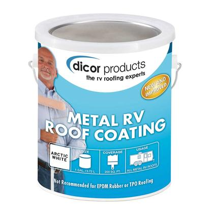 Dicor Elastomeric Rv Roof Coating Gallon Dicor Rp Mrc 1